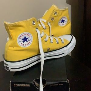 Converse Chuck Taylor All Star Sneaker Hi Yellow
